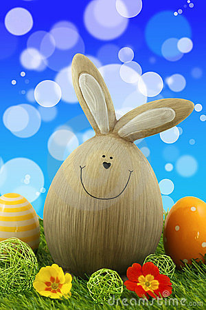Free Easter Bunny Royalty Free Stock Photos - 23789458