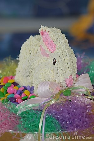 Free Easter Bunny Cake Royalty Free Stock Photography - 688557