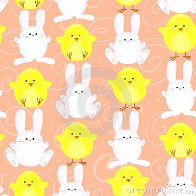 Easter bunny/chick pattern