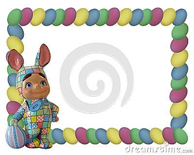 Easter Bunny Egg Frame