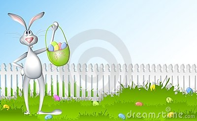 Easter Bunny Egg Hunt