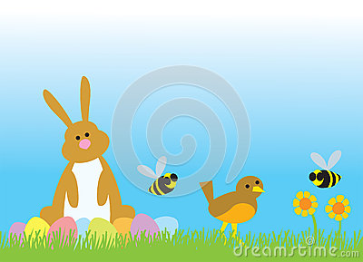 Easter Bunny and Friends