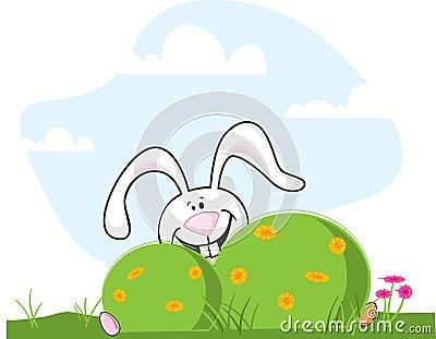 Easter Bunny Hiding