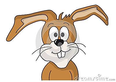 Easter bunny looks forward