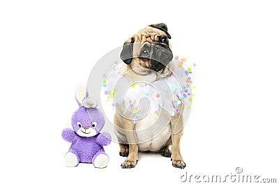Easter Bunny & Pug