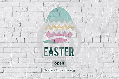 Easter Bunny Rabbit Spring Season Tradition Egg Concept Stock ...