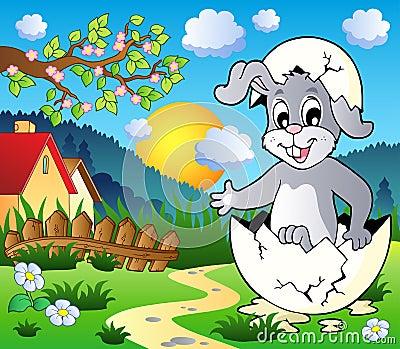 Easter bunny theme image 3
