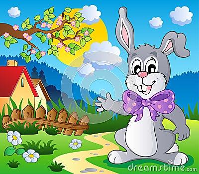Easter bunny theme image 5