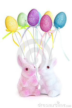 Free Easter Bunny Toys Stock Images - 8216364