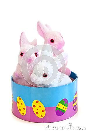 Free Easter Bunny Toys Stock Photo - 8216380