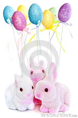Free Easter Bunny Toys Stock Photo - 8216410