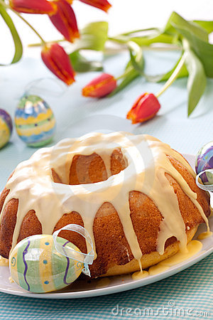 Free Easter Cake Royalty Free Stock Photography - 17594187