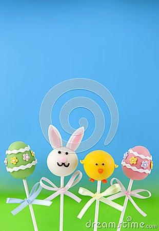 Easter cake pops