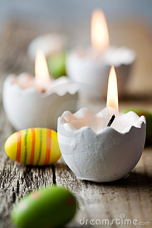 Free Easter Candles Stock Photos - 18223263