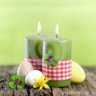 Easter candles