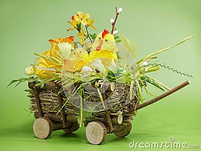 Easter cart