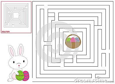 Easter children game