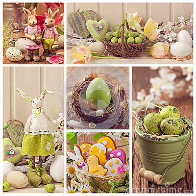 Free Easter Collage Stock Photography - 38043712