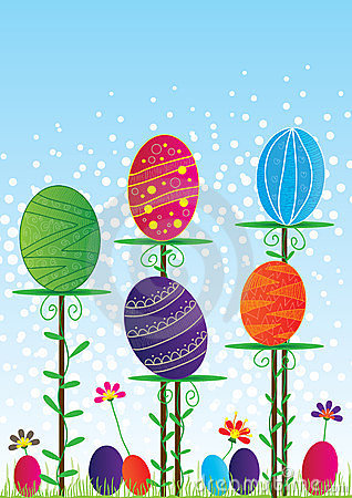 Easter Colorful Card_eps