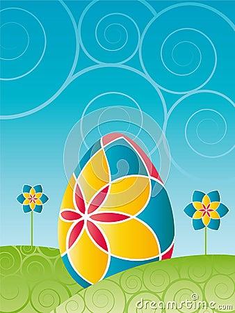 Easter - Colorful easter egg