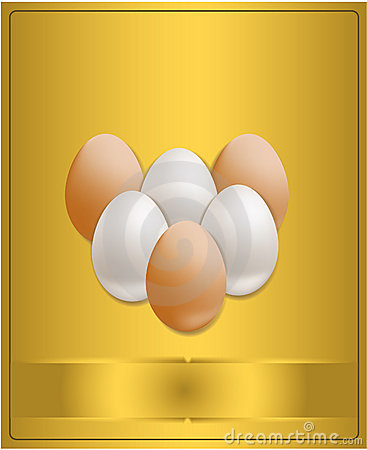 Easter congratulations gold