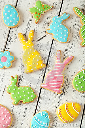 Free Easter Cookies Stock Images - 50833754