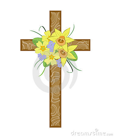 Easter Cross Stock Photography Image 7856152