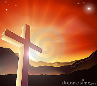 Easter Cross Concept Royalty Free Stock Photos - Image: 23182428
