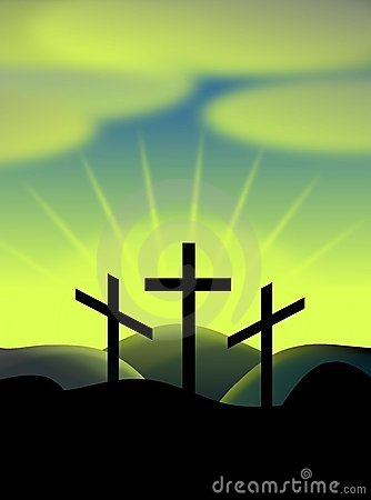 Free Easter Crosses Stock Image - 19015971