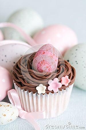 Free Easter Cupcake Royalty Free Stock Photos - 13331468