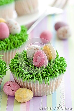 Free Easter Cupcakes Stock Photos - 12814733