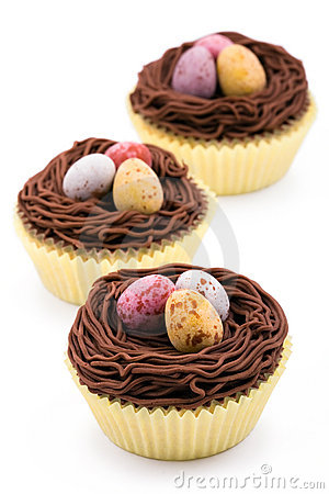 Free Easter Cupcakes Stock Photo - 13149600