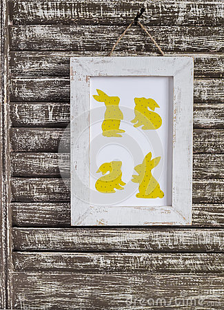 Easter Decorations Homemade Easter Picture Vintage Style