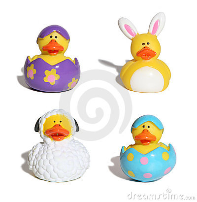 Free Easter Ducks Royalty Free Stock Photography - 904067