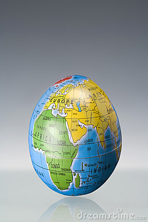 Easter Egg as Earth