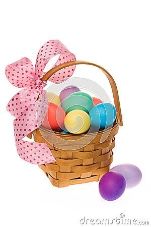 Free Easter Egg Basket Stock Photo - 4347210