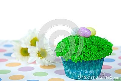 Easter Egg Cupcake