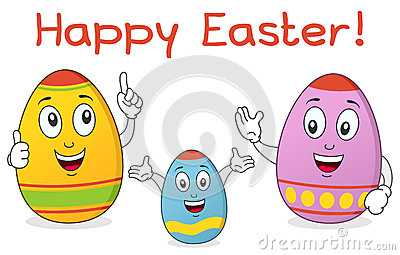 Easter Egg Family Characters
