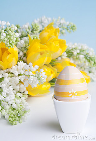 Free Easter Egg For Breakfast Royalty Free Stock Photo - 18081925