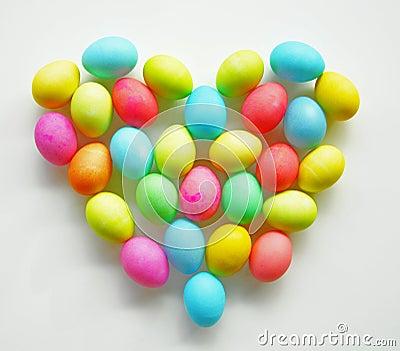 Easter egg Heart