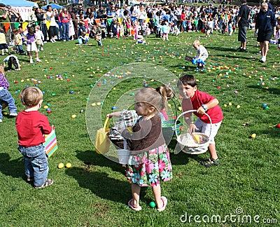 Easter Egg Hunt Editorial Image