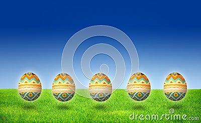 Easter Egg Hunt isolated