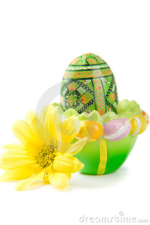 Free Easter Egg In Holder Stock Photography - 4411542