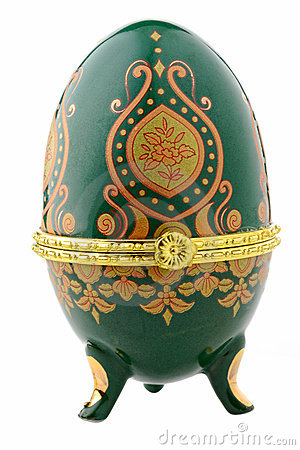 Easter egg for jewellery