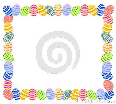 Easter Egg Photo Frame or Border