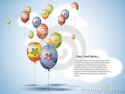 Easter Egg style Balloons