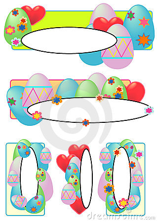 Easter Egg Tags Oval