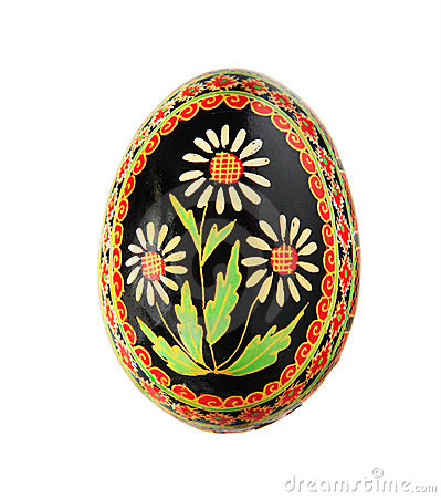 Free Easter Egg With Floral Design Stock Photo - 8685320