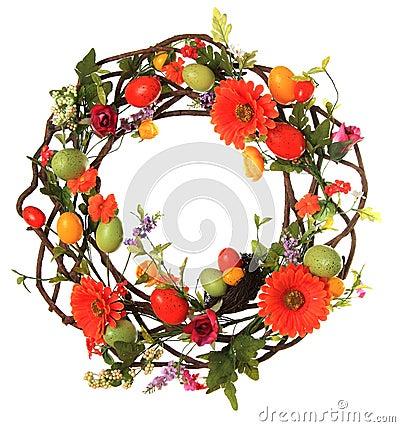 Free Easter Egg Wreath Stock Photos - 29206803