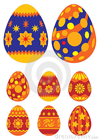 Free Easter Eggs 01 Stock Images - 2030304